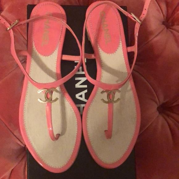 1437425dec8a Chanel BE CC Thong Sandal